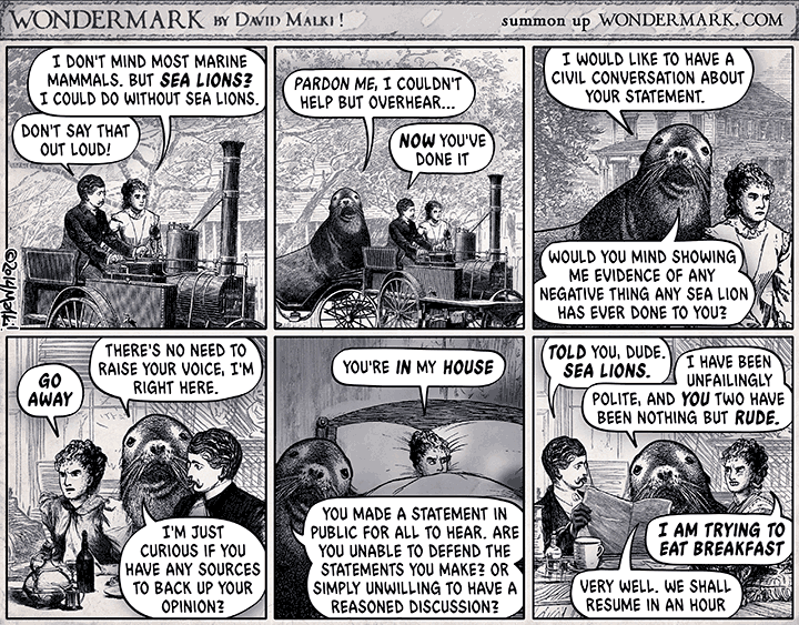 The Terrible Sea Lion