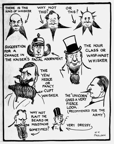 True Stuff: 1939 Beard Photo-Spread; Haselden cartoons