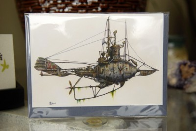 Check out: Fanciful submarines