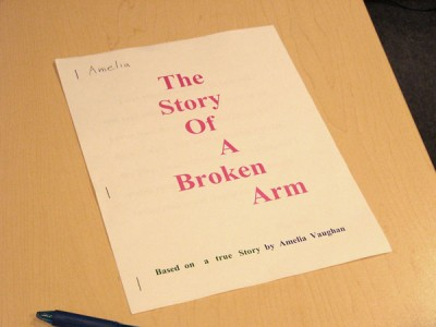 "Book Review: ""The Story of a Broken Arm,"" by Amelia Vaughan"