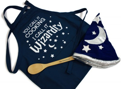 Celebrating Beardsgiving with new shirts, aprons & cards!