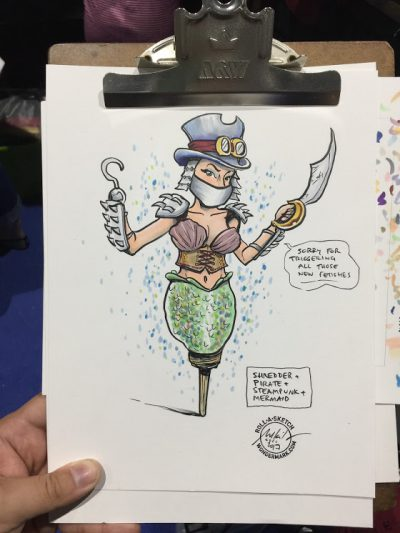 Roll-a-Sketches from Comic-Con! Gen Con THIS WEEK!