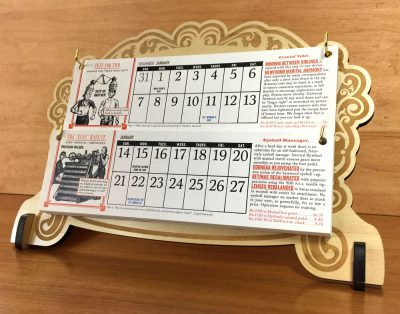 2018 Wondermark Calendars -- shipping now!