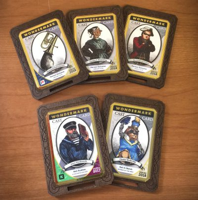 NEXT WEEK: Seattle! With new stickers & Cast Cards!