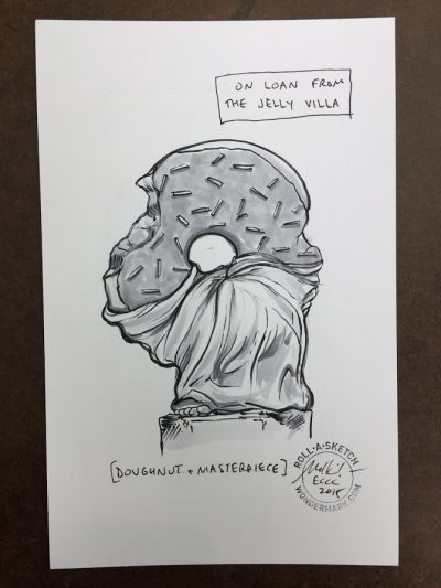 Roll-a-Sketches from Emerald City '18!