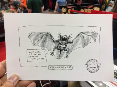 Roll-a-Sketches from Gen Con!