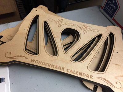 More pictures of the Wondermark Calendar!