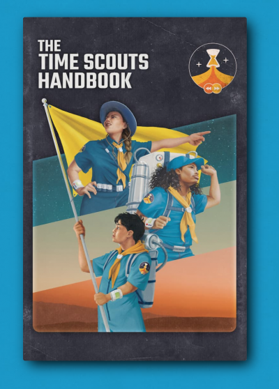 Check out: 826LA's Time Scouts book