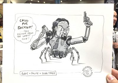 Roll-a-Sketches from SDCC! & This week: GEN CON