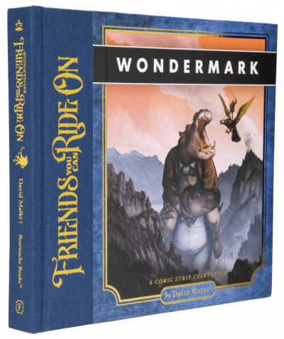 New Wondermark book now available as hardcover and PDF download!