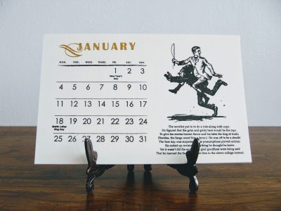 Downloadable Wondermark 2021 calendar!